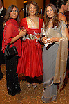 Lisa Kahn, Anjali Arora and Jyoti Kohli at the UNICEF Mystique of India gala at the InterContinental Hotel Saturday Sept. 27,2008.(Dave Rossman/For the Chronicle)