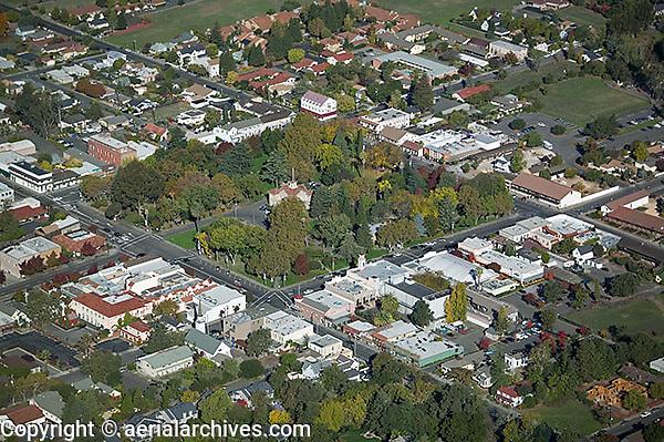 aerial photograph Sonoma, Sonoma County, California