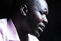 UGANDA BRAILLE BIBLE CASE STUDIES. SANTOS (35) OKELLO. LIRA, UGANDA. PHOTO BY CLARE KENDALL. 25/9/13