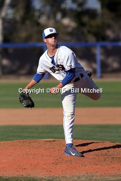 Kyle Nelson - 2015 UC Santa Barbara Gauchos (Bill Mitchell)