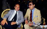 ALBERTO SORDI CON CARLO VERDONE <br /> SERATA DEI DAVID DI DONATELLO ROMA 1982