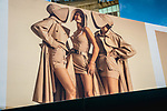 """West Broadway St / Grand St.<br /> From the """"Tall Figures"""" series. <br /> Manhattan, New York.<br /> © 2020 Thierry Gourjon"""