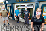 The staff of Buds Créche in Ballyduff on Monday, getting ready for their reopening. <br /> Front Katie McCabe.<br /> Back l to r: Anthony O'Carroll, Jackie Fitzpatrick and Shane Guerin