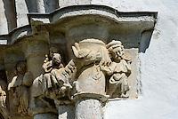 Kirche von Martebo (14.Jh.) auf der Insel Gotland, Schweden, Europa<br /> Church of Martebo (14.c.), Isle of Gotland, Sweden