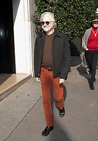 October 18 2107, PARIS FRANCE Chuck Leavell Pianist of the Rolling Stones is walking on Avenue Georges V. # LES ROLLING STONES FONT DU SHOPPING A PARIS