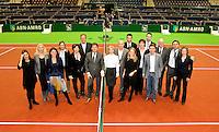 14-2-10, Rotterdam, Tennis, ABNAMROWTT, Management groepsfoto