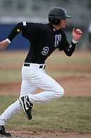 March 22nd 2009:  Second baseman Brian Deering (3) of the Niagara University Purple Eagles during a game at Sal Maglie Stadium in Niagara Falls, NY.  Photo by:  Mike Janes/Four Seam Images