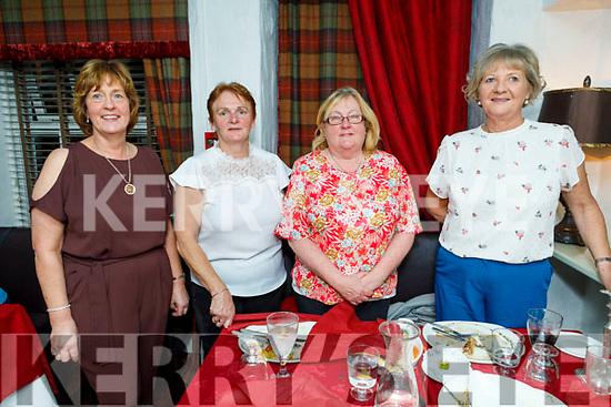 Debbie Clifford, Noreen O'Sullivan, Rita Gleeson and Ann Slattery enjoying the evening in Cassidys on Saturday..