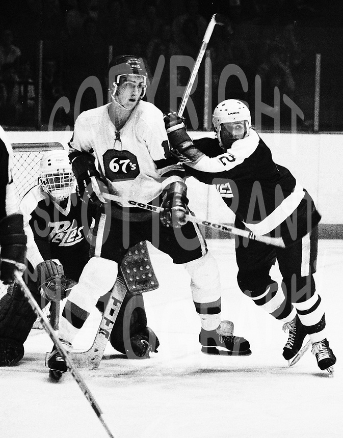 Shane Pearsall Ottawa 67's 1979. Photo Scott Grant