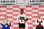 Collin Joyce Rally Cycling wins Stage 2 and takes over the White Jersey of the 2018 Artic Race of Norway, running 195km from Tana to Kjøllefjord, Norway. 17th August 2018. <br /> <br /> Picture: ASO/Pauline Ballet | Cyclefile<br /> All photos usage must carry mandatory copyright credit (© Cyclefile | ASO/Pauline Ballet)