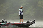 August 11, 2019: Kyle Walters on the final day on the water of the Forrest Wood Cup on Lake Hamilton in Hot Springs, Arkansas. ©Justin Manning/Eclipse Sportswire/CSM