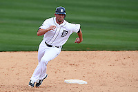 Detroit Tigers Casper Wells #57 during a exhibition game vs. the Florida Southern Mocs at Joker Marchant Stadium in Lakeland, Florida;  February 25, 2011.  Detroit defeated Florida Southern 17-5.  Photo By Mike Janes/Four Seam Images