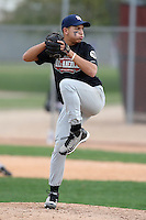 January 16, 2010:  Matt Tulley (Lowell, MA) of the Baseball Factory Northeast Team during the 2010 Under Armour Pre-Season All-America Tournament at Kino Sports Complex in Tucson, AZ.  Photo By Mike Janes/Four Seam Images