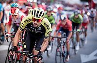 Sam Bewley (NZL/Mitchelton-Scott) in the Madrid laps<br /> <br /> Stage 21: Fuenlabrada to Madrid (107km)<br /> La Vuelta 2019<br /> <br /> ©kramon