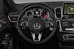 Car pictures of steering wheel view of a 2017 Mercedes Benz GLE-Class GLE300d 5 Door SUV Steering Wheel