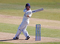 Josh Bohannon bats for Lancashire during Kent CCC vs Lancashire CCC, LV Insurance County Championship Group 3 Cricket at The Spitfire Ground on 22nd April 2021