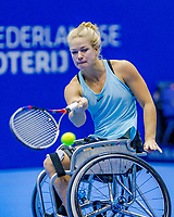 Rotterdam, Netherlands, December 17, 2017, Topsportcentrum, Ned. Loterij NK Tennis, Wheelchair woman's  final: Dide de Groot (NED  <br /> Photo: Tennisimages/Henk Koster