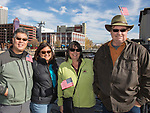 Dave and Cathy Hiromoto and Cyndee and Russ Vorse during the Veterans Day Parade in downtown Reno on Saturday, Nov. 11, 2017.