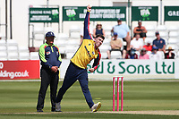 Dan Lawrence in bowling action for Essex during Essex Eagles vs Middlesex, Vitality Blast T20 Cricket at The Cloudfm County Ground on 18th July 2021