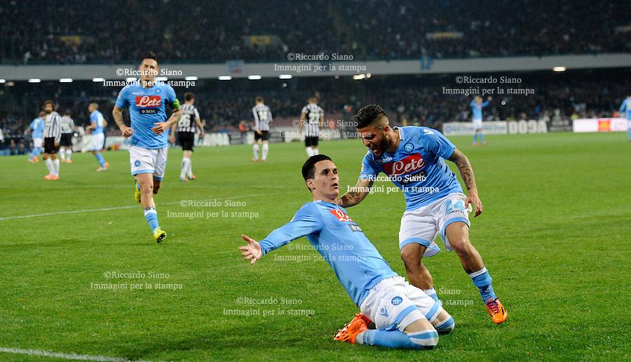 - NAPOLI 30 MAR  -  Stadio San Paolo    Napoli - Juventus gol di callejon