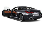 Car images close up view of a 2019 BMW 8 Series M Sport 2 Door Coupe doors