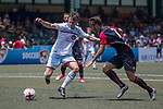 Aston Villa (in white) vs Cagliari Calcio (in red and black) during their Main Tournament Cup Quarter-Final match, part of the HKFC Citi Soccer Sevens 2017 on 28 May 2017 at the Hong Kong Football Club, Hong Kong, China. Photo by Chris Wong / Power Sport Images