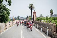 peloton drive-by<br /> <br /> Stage 4: Cullera to El Puig (175km)<br /> La Vuelta 2019<br /> <br /> ©kramon