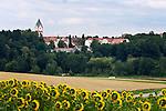 Germany, Upper Bavaria, hop-planting area Hallertau (Holledau), Scheyern: Benedictine monastery Scheyern   Deutschland, Bayern, Oberbayern, Hopfenanbaugebiet Hallertau (Holledau), Scheyern: Benediktinerkloster Scheyern