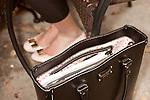 November 27, 2012. Charleston, South Carolina.. Alexa Wyatt's Kate Spade handbag.. Alexa Wyatt, 23, is an Event Coordinator with Southern Protocol, a boutique wedding and event planning company in Charleston, SC..