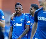 12.05.2019 Rangers v Celtic: Alfredo Morelos and Daniel Candeias