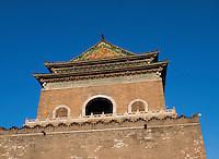 Glockenturm-Zhonglou, Peking, China, Asien<br /> Belltower Zhonglou, Beijing, China, Asia