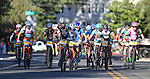 Riders participate in the Epic Rides Carson City Off-Road women's Pro Criterium in Carson City, Nev., on Friday, June 17, 2016.<br />