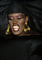 Undated File Photo - Circa 1987- Grace Jones