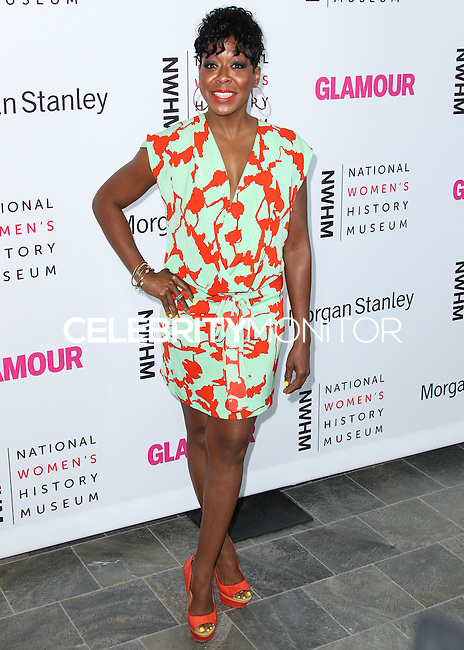 LOS ANGELES, CA, USA - AUGUST 23: Tichina Arnold arrives at The National Women's History Museum and Glamour Magazine's 3rd Annual Women Making History Brunch held at the Skirball Cultural Center on August 23, 2014 in Los Angeles, California, United States. (Photo by Xavier Collin/Celebrity Monitor)