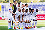 Players of Kyrgyz Republic line up and pose for the photo prior to the AFC Asian Cup UAE 2019 Group C match between China (CHN) and Kyrgyz Republic (KGZ) at Khalifa Bin Zayed Stadium on 07 January 2019 in Al Ain, United Arab Emirates. Photo by Marcio Rodrigo Machado / Power Sport Images