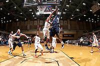 SAN ANTONIO, TX - DECEMBER 29, 2012: The Utah State University Aggies versus the University of Texas at San Antonio Roadrunners Men's Basketball at the UTSA Convocation Center. (Photo by Jeff Huehn)
