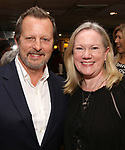 Rob Ashford and Kathleen Marshall during the Rob Ashford portrait unveiling for the Sardi's Wall of Fame on October 10, 2018 at Sardi's Restaurant in New York City.