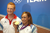 05.08.2012 - Team GB: Jessica Ennis & Greg Rutherford Press Conference
