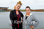 Enjoying a stroll in the Tralee Bay Wetlands on Monday, l to r: Gemma O'Brien and Philomena Quilligan.