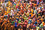 Holi, Mathura, Uttar Pradesh, India<br />