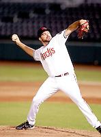 Josh Collmenter - Scottsdale Scorpions - 2010 Arizona Fall League.Photo by:  Bill Mitchell/Four Seam Images..