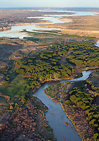 Arkansas River as it approaches Lake Pueblo, Colorado. June 2014. 85787