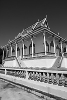 Pagoda  on Kaoh Trong<br /> island <br /> ,Kratie, Cambodia,<br /> October 2020.