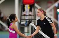10-03-13, Rotterdam, Tennis, NOJK, Juniors, Lian Tran (L)    Margriet Timmermans