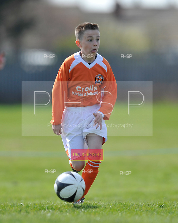 09/04/2011 Coulton cup semi finals....© Phill Heywood.09/04/2011 Coulton Cup Semi Final U-10 Plate AFC Blackpool v Thornton.©  Phill Heywood