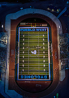 Pigskin Classic. Pueblo West High School football game.