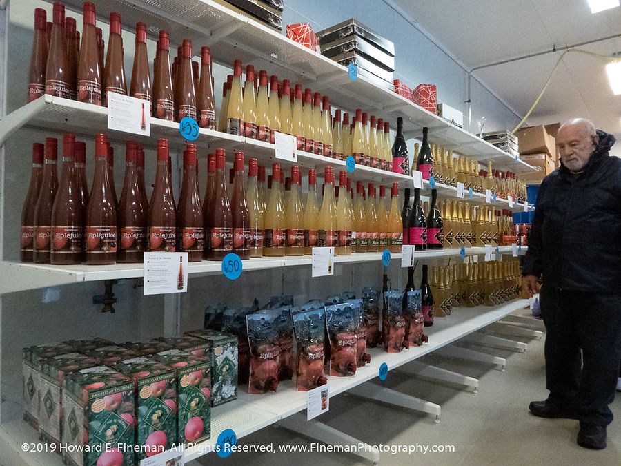 Lots of amazing apple ciders and juices at …