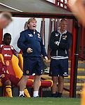Stuart McCall yelling at his team