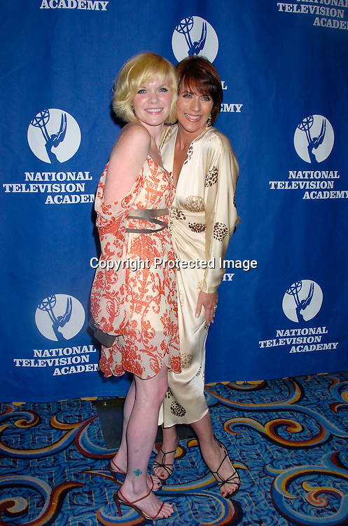 Maura West and Colleen Zenk PInter..at the Daytime Emmy Creative Craft Awards on May 15, 2004 at the Marriott Marquis Hotel.                                        Photo by Robin Platzer, Twin Images