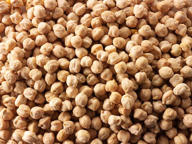 whole chic peas - stock photos